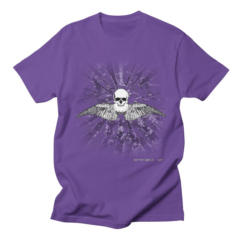 Death Seraphim Men's Regular T-Shirt by AntonAbela-Art's Artist Shop