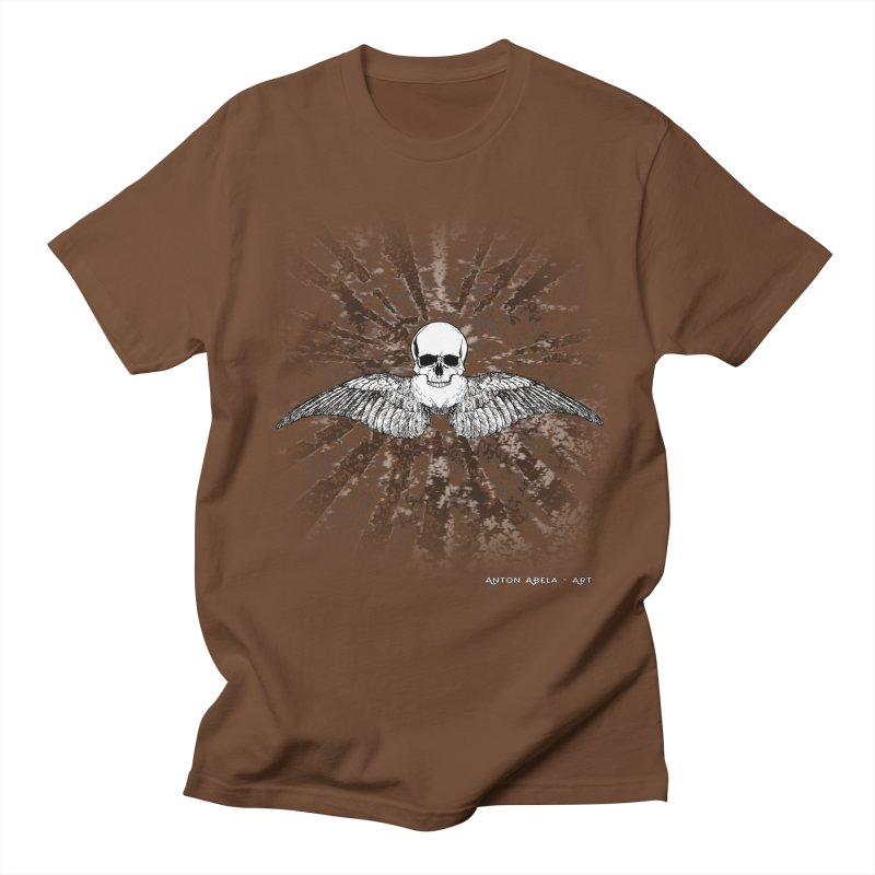 Death Seraphim Men's T-Shirt by AntonAbela-Art's Artist Shop