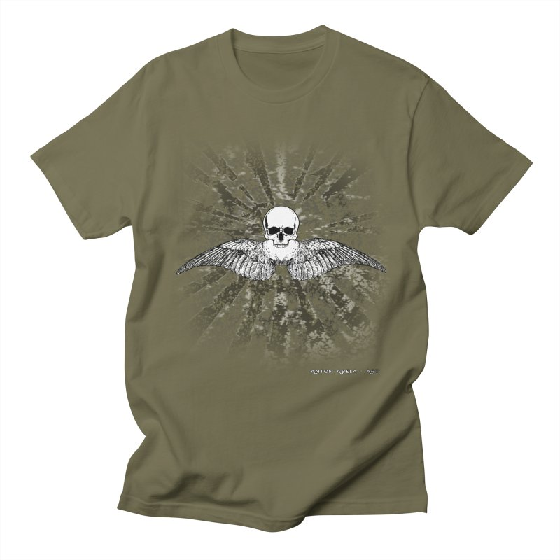Death Seraphim Women's Regular Unisex T-Shirt by AntonAbela-Art's Artist Shop