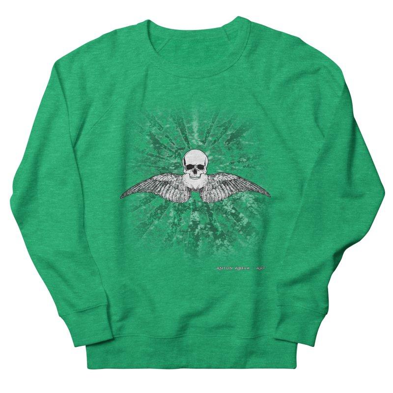 Death Seraphim Women's Sweatshirt by AntonAbela-Art's Artist Shop
