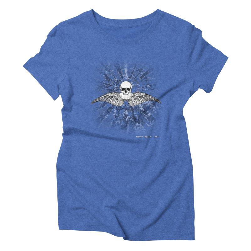 Death Seraphim Women's Triblend T-Shirt by AntonAbela-Art's Artist Shop