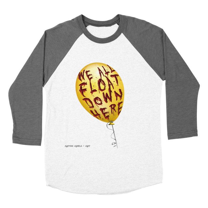 We All Float Down Here!  Women's Longsleeve T-Shirt by AntonAbela-Art's Artist Shop