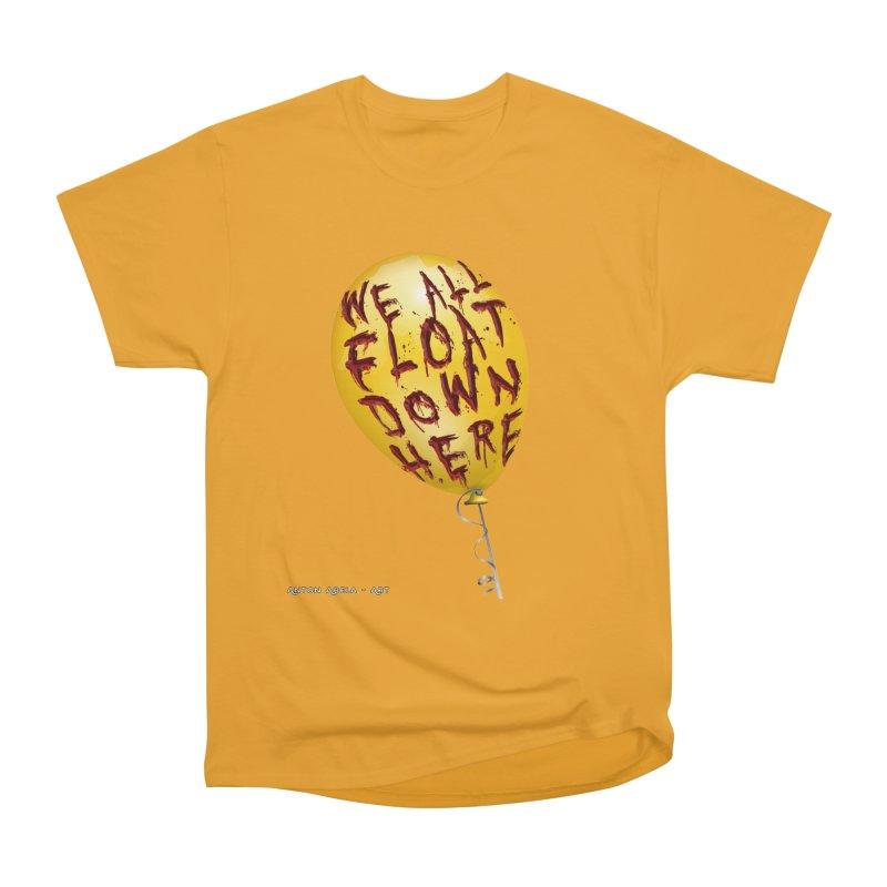 We All Float Down Here!  Men's Classic T-Shirt by AntonAbela-Art's Artist Shop