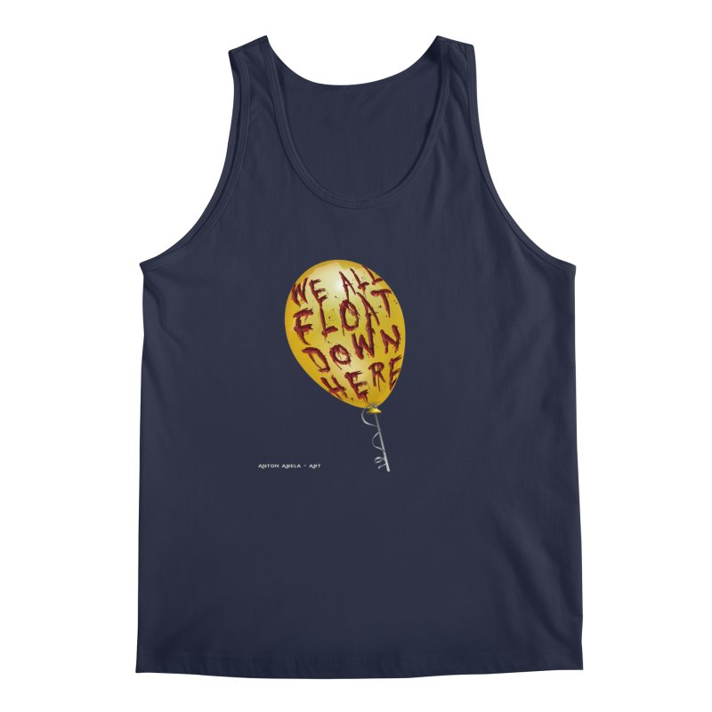 We All Float Down Here!  Men's Tank by AntonAbela-Art's Artist Shop