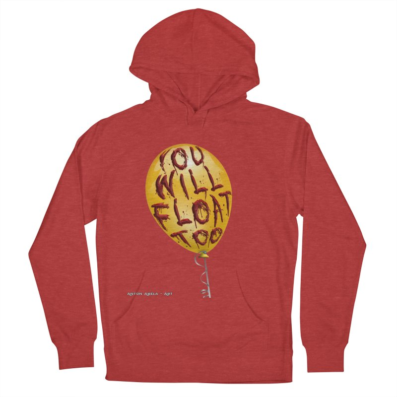 You Will Float Too! Men's Pullover Hoody by AntonAbela-Art's Artist Shop