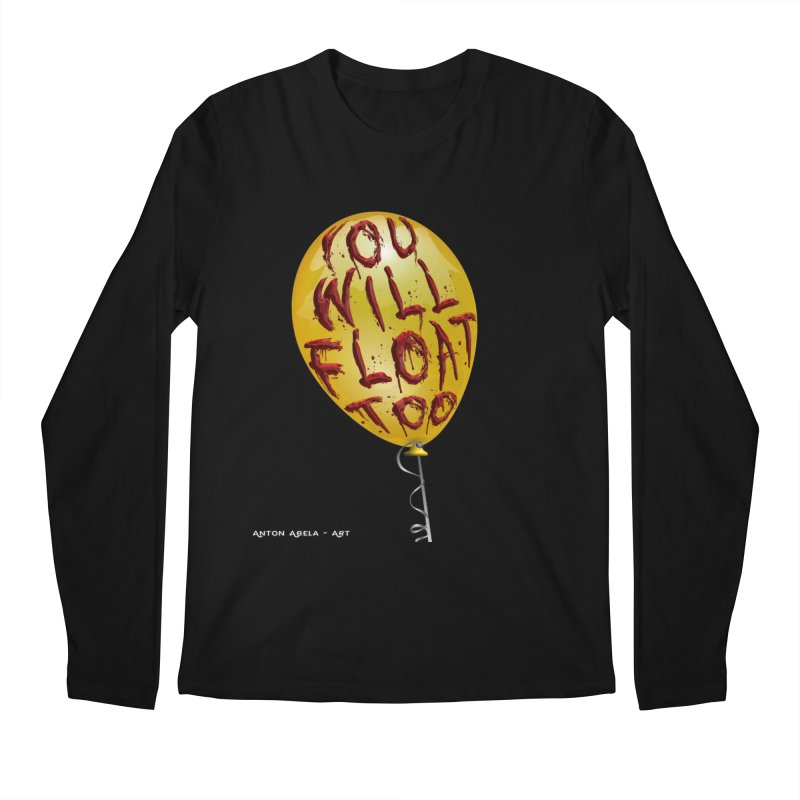 You Will Float Too! Men's Regular Longsleeve T-Shirt by AntonAbela-Art's Artist Shop