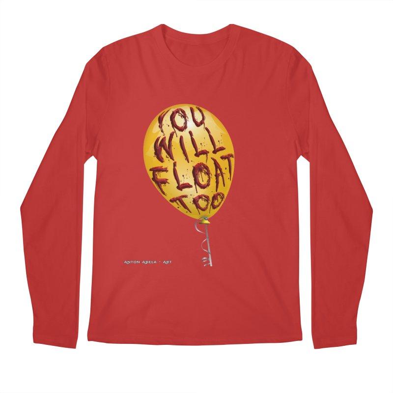 You Will Float Too! Men's Longsleeve T-Shirt by AntonAbela-Art's Artist Shop
