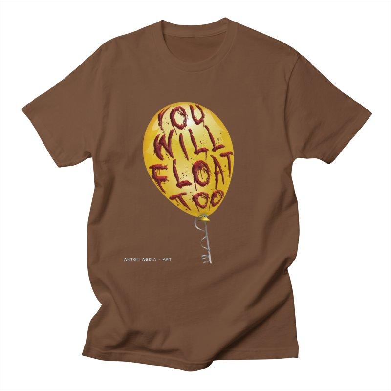 You Will Float Too! Men's Regular T-Shirt by AntonAbela-Art's Artist Shop