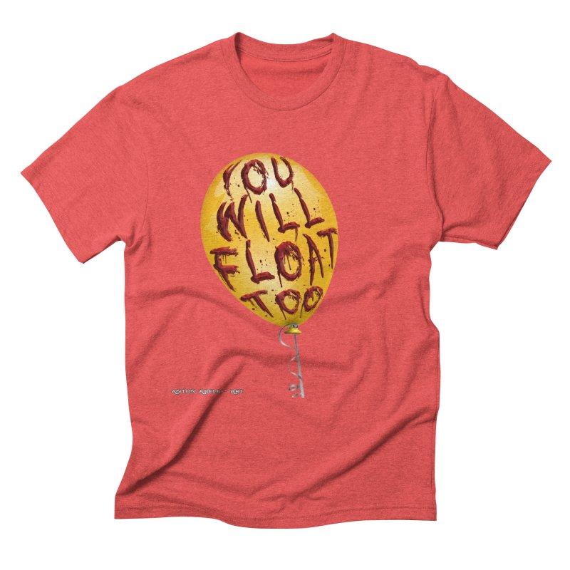 You Will Float Too! Men's Triblend T-Shirt by AntonAbela-Art's Artist Shop