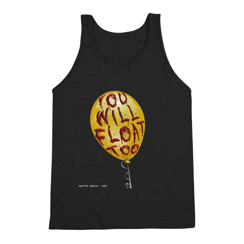 You Will Float Too! Men's Tank by AntonAbela-Art's Artist Shop