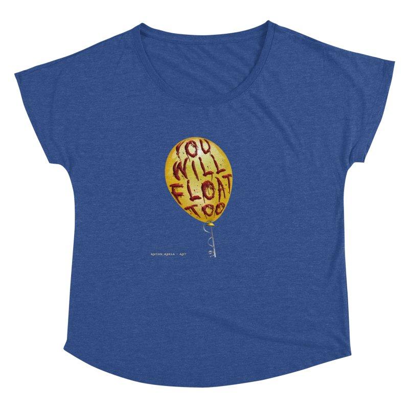 You Will Float Too! Women's Dolman by AntonAbela-Art's Artist Shop