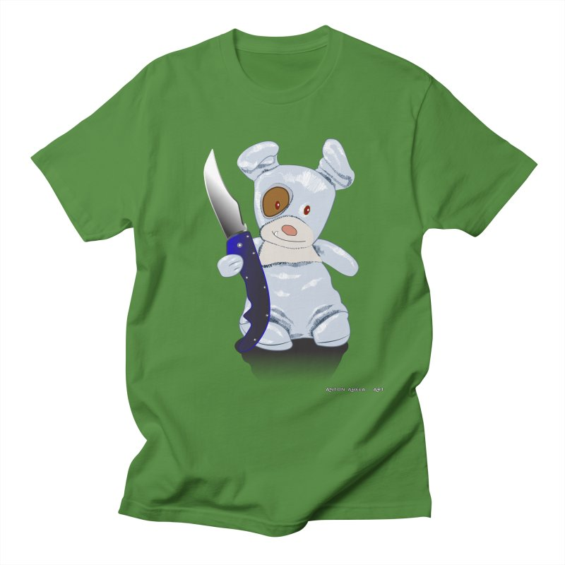 Daddy's 'lil Psycho Boy Men's T-Shirt by AntonAbela-Art's Artist Shop