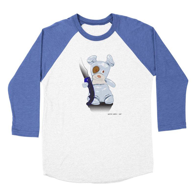 Daddy's 'lil Psycho Boy Women's Longsleeve T-Shirt by AntonAbela-Art's Artist Shop