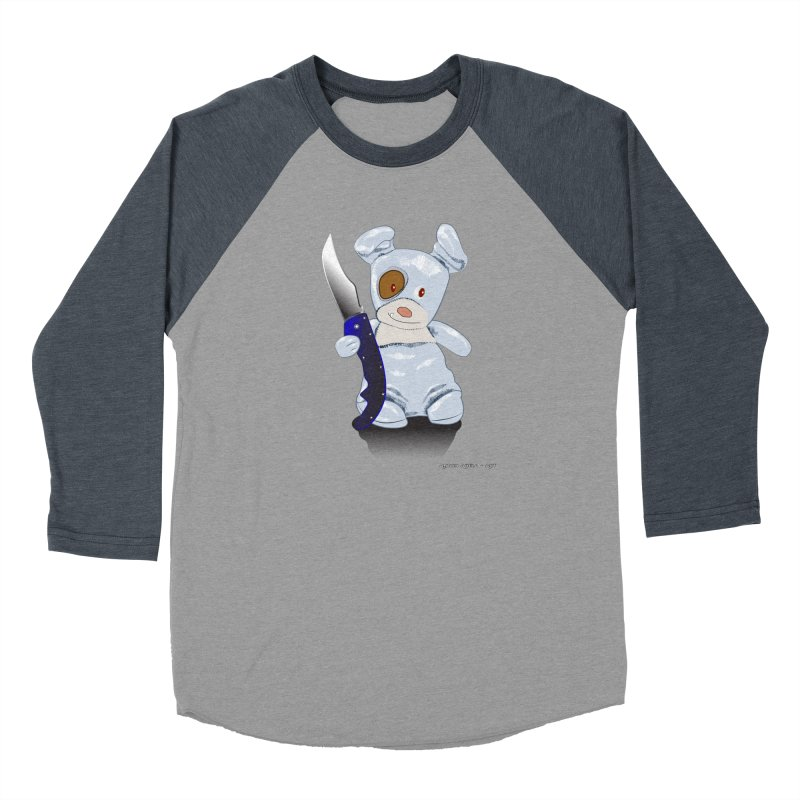 Daddy's 'lil Psycho Boy Women's Baseball Triblend Longsleeve T-Shirt by AntonAbela-Art's Artist Shop