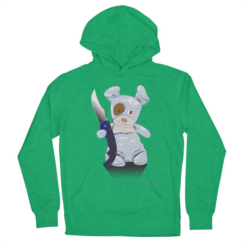 Daddy's 'lil Psycho Boy Men's French Terry Pullover Hoody by AntonAbela-Art's Artist Shop
