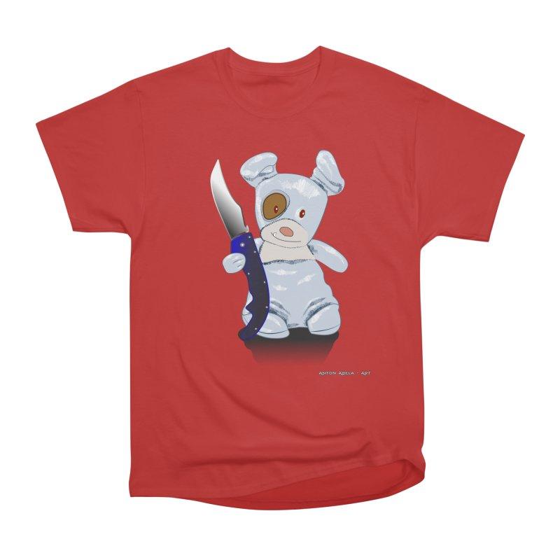 Daddy's 'lil Psycho Boy Men's Heavyweight T-Shirt by AntonAbela-Art's Artist Shop