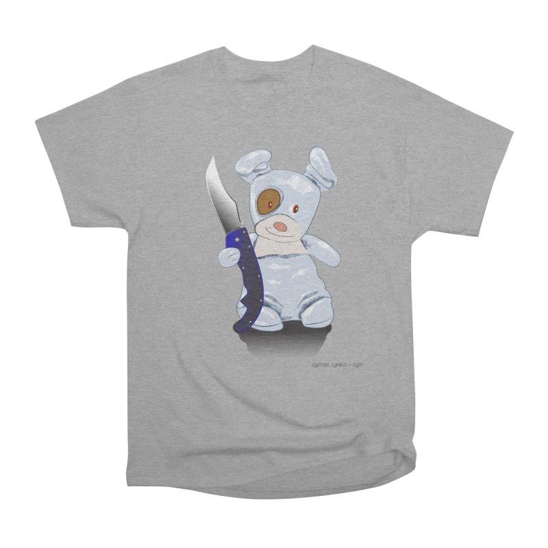 Daddy's 'lil Psycho Boy Women's Heavyweight Unisex T-Shirt by AntonAbela-Art's Artist Shop