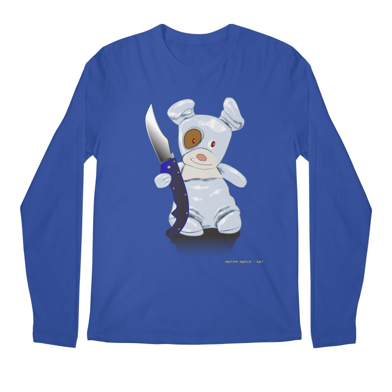 Daddy's 'lil Psycho Boy Men's Regular Longsleeve T-Shirt by AntonAbela-Art's Artist Shop