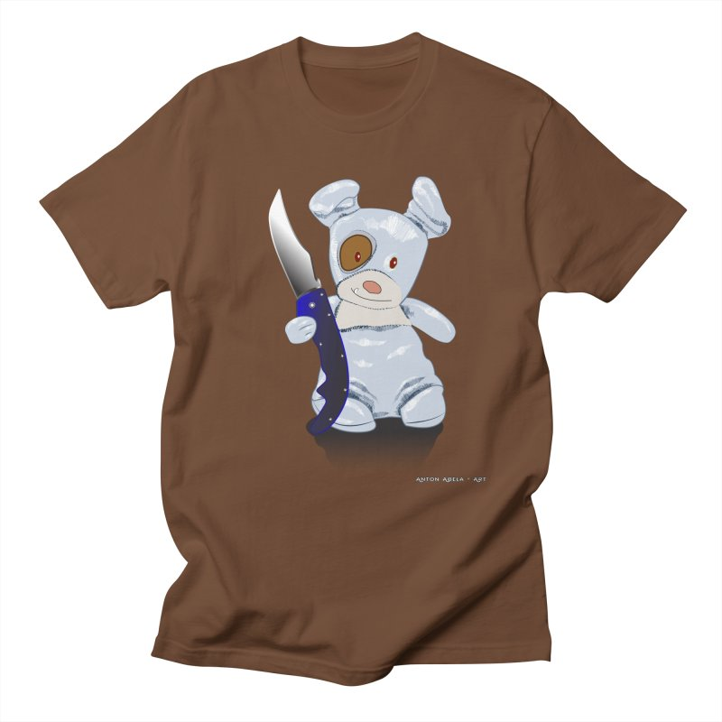 Daddy's 'lil Psycho Boy Women's Regular Unisex T-Shirt by AntonAbela-Art's Artist Shop