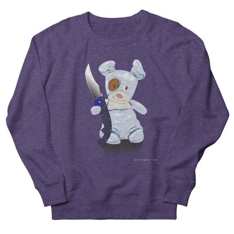 Daddy's 'lil Psycho Boy Women's Sweatshirt by AntonAbela-Art's Artist Shop