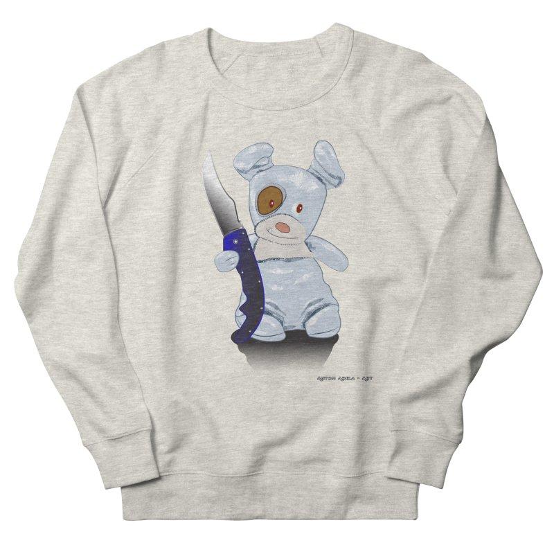 Daddy's 'lil Psycho Boy Women's French Terry Sweatshirt by AntonAbela-Art's Artist Shop