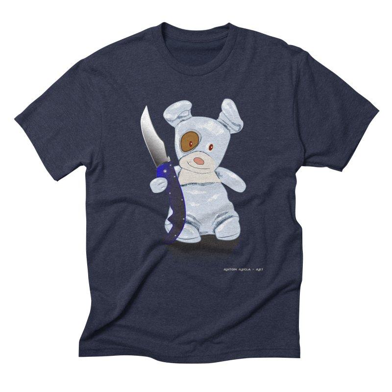 Daddy's 'lil Psycho Boy Men's Triblend T-Shirt by AntonAbela-Art's Artist Shop