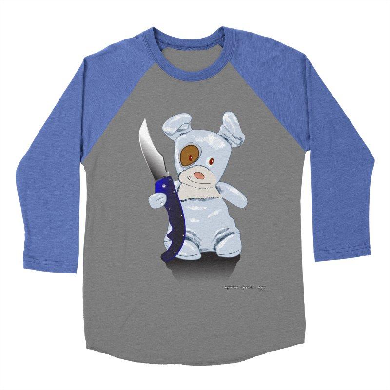 Daddy's 'lil Psycho Boy Men's Baseball Triblend T-Shirt by AntonAbela-Art's Artist Shop