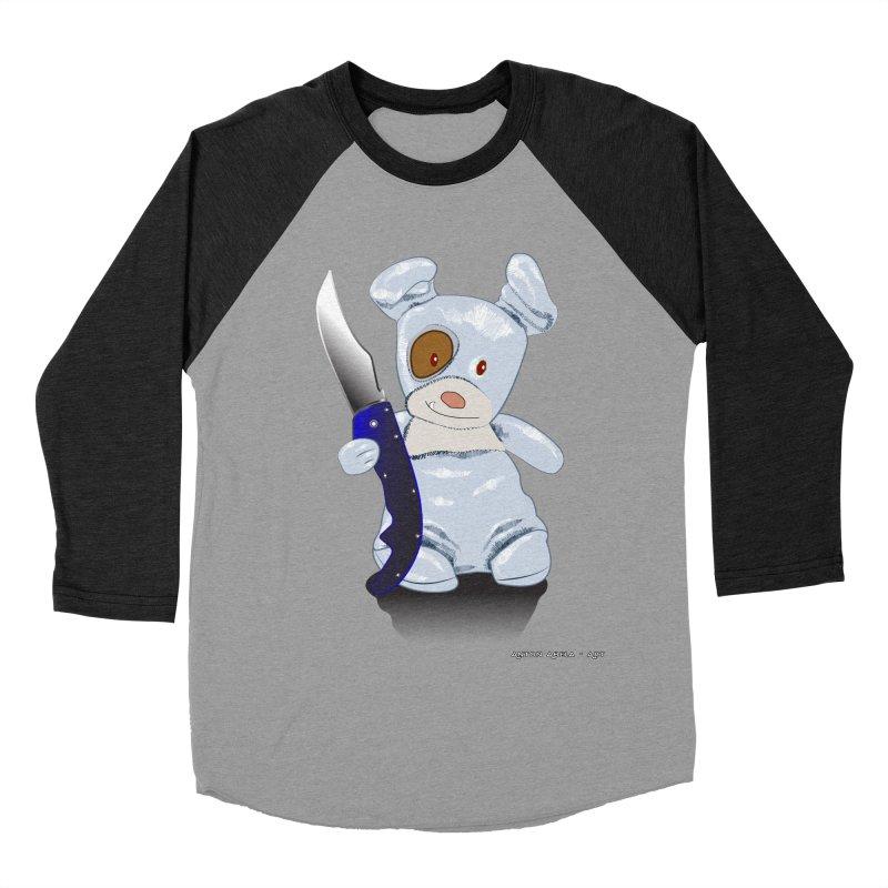 Daddy's 'lil Psycho Boy Men's Baseball Triblend Longsleeve T-Shirt by AntonAbela-Art's Artist Shop