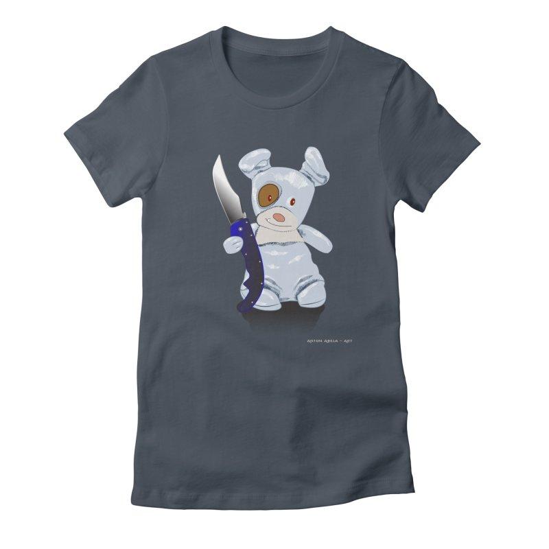 Daddy's 'lil Psycho Boy Women's T-Shirt by AntonAbela-Art's Artist Shop