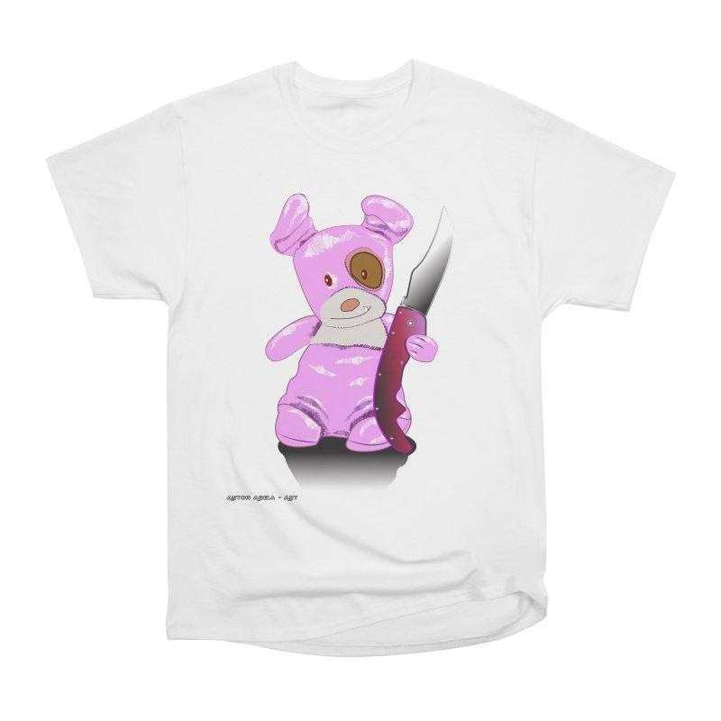 Doggies' Angel Men's T-Shirt by AntonAbela-Art's Artist Shop