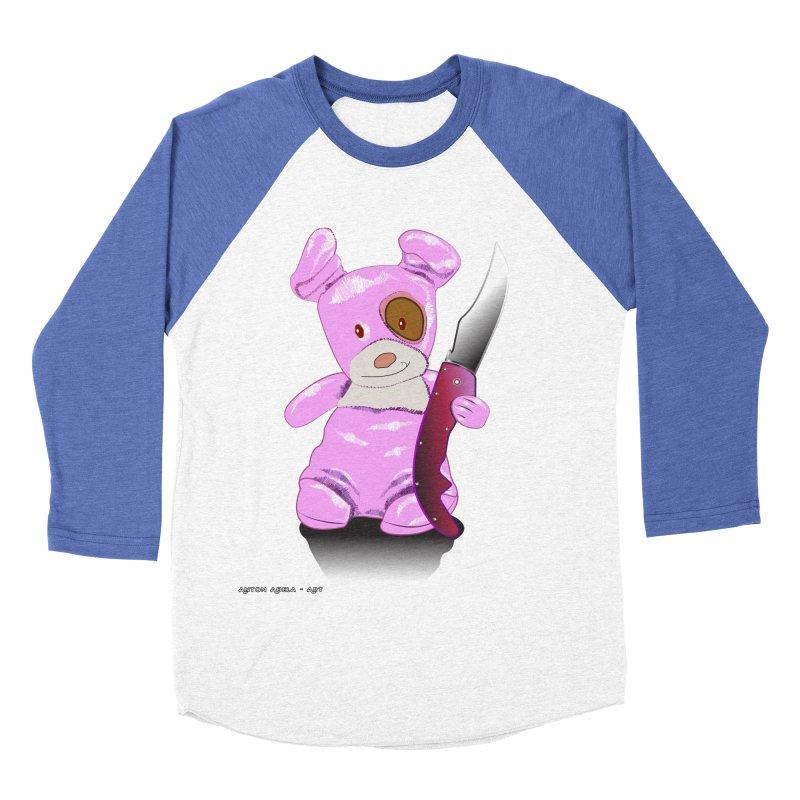 Doggies' Angel Men's Baseball Triblend Longsleeve T-Shirt by AntonAbela-Art's Artist Shop