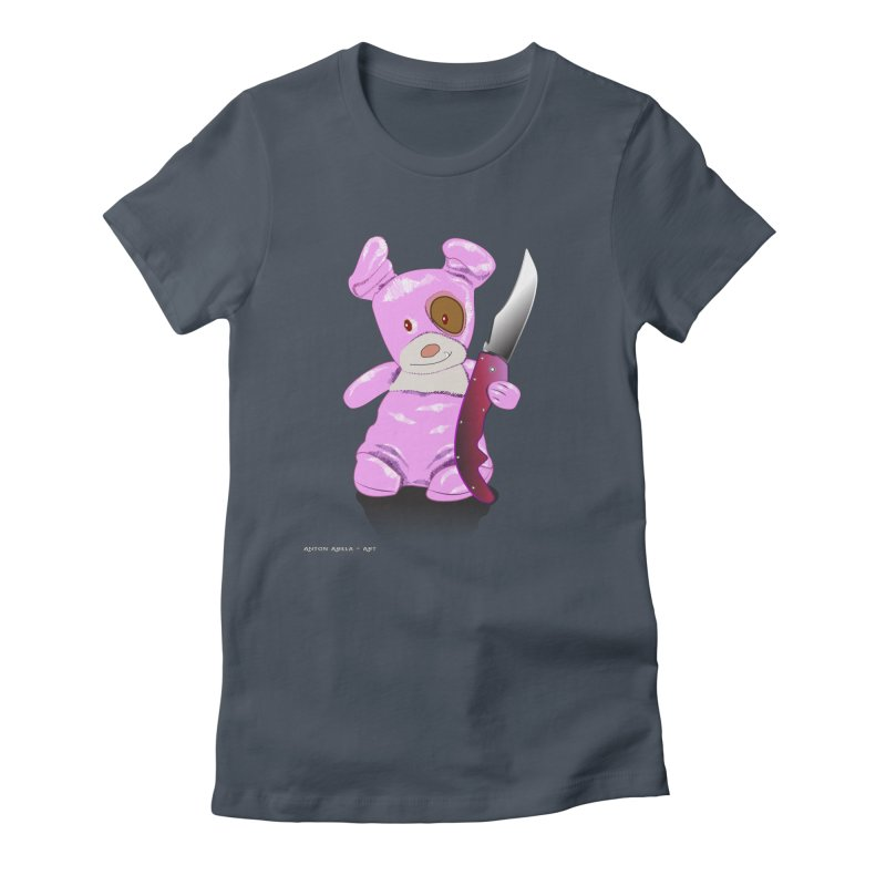 Doggies' Angel Women's T-Shirt by AntonAbela-Art's Artist Shop
