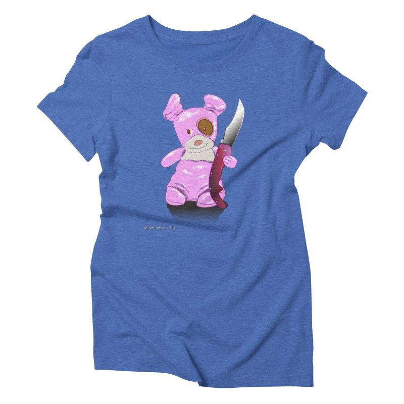 Doggies' Angel Women's Triblend T-Shirt by AntonAbela-Art's Artist Shop