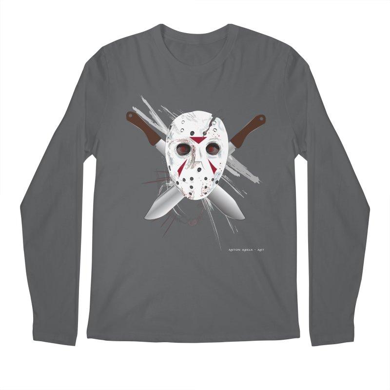 Jason Voorhees Men's Longsleeve T-Shirt by AntonAbela-Art's Artist Shop