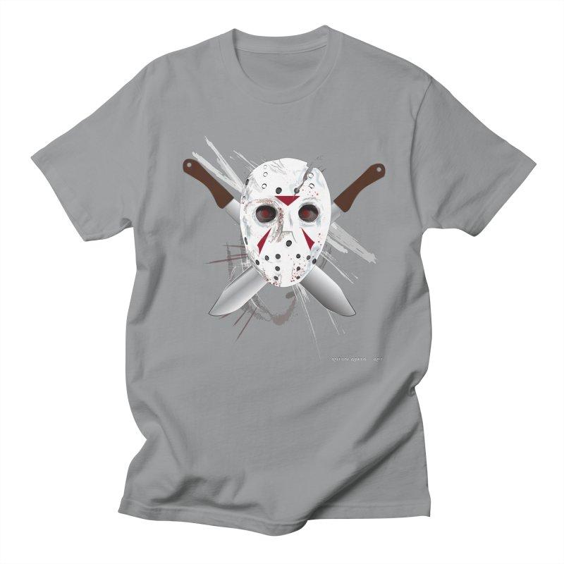 Jason Voorhees Women's Regular Unisex T-Shirt by AntonAbela-Art's Artist Shop