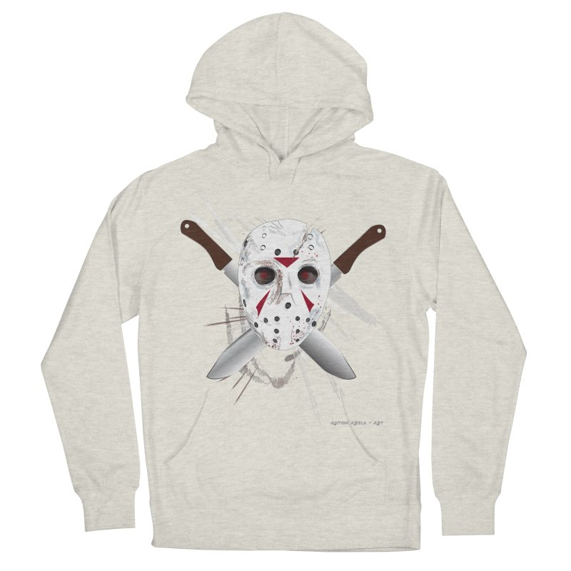 Jason Voorhees Women's Pullover Hoody by AntonAbela-Art's Artist Shop