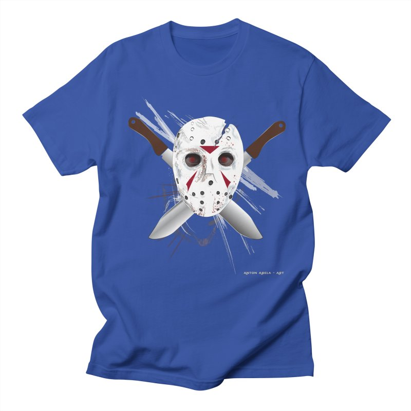 Jason Voorhees Men's Regular T-Shirt by AntonAbela-Art's Artist Shop