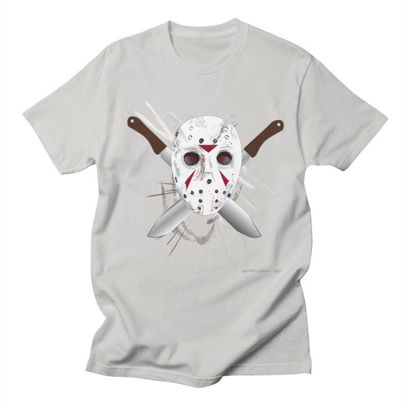 Jason Voorhees Men's Regular T-Shirt by AntonAbela-Art's Artist Shop