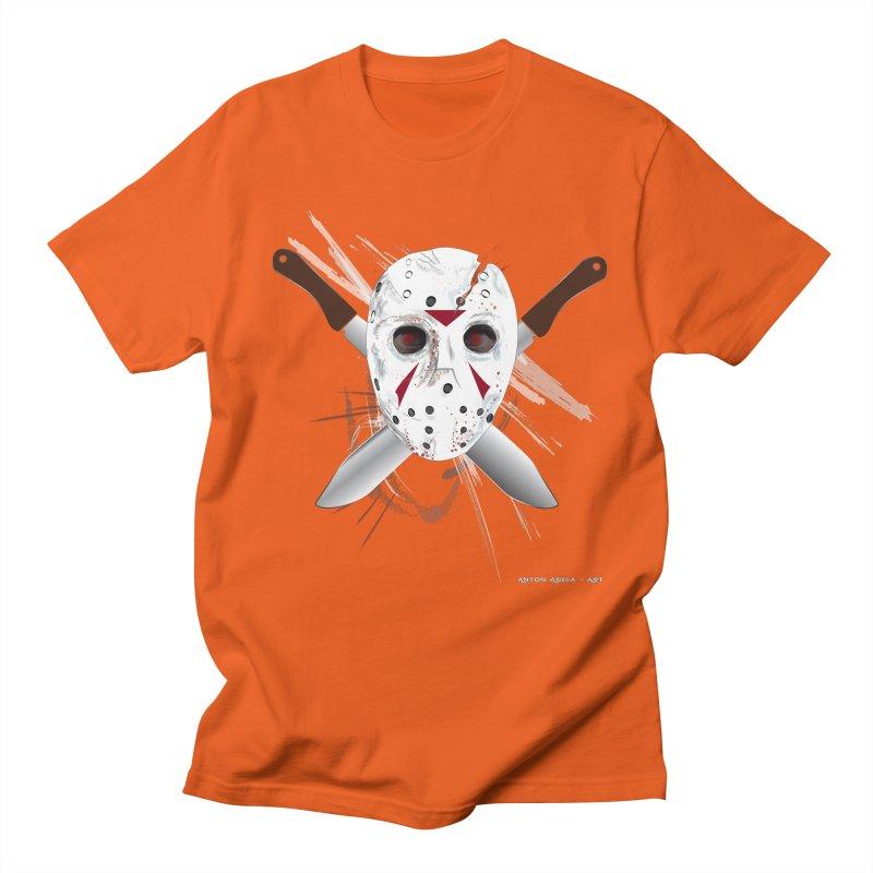 Jason Voorhees Women's Unisex T-Shirt by AntonAbela-Art's Artist Shop