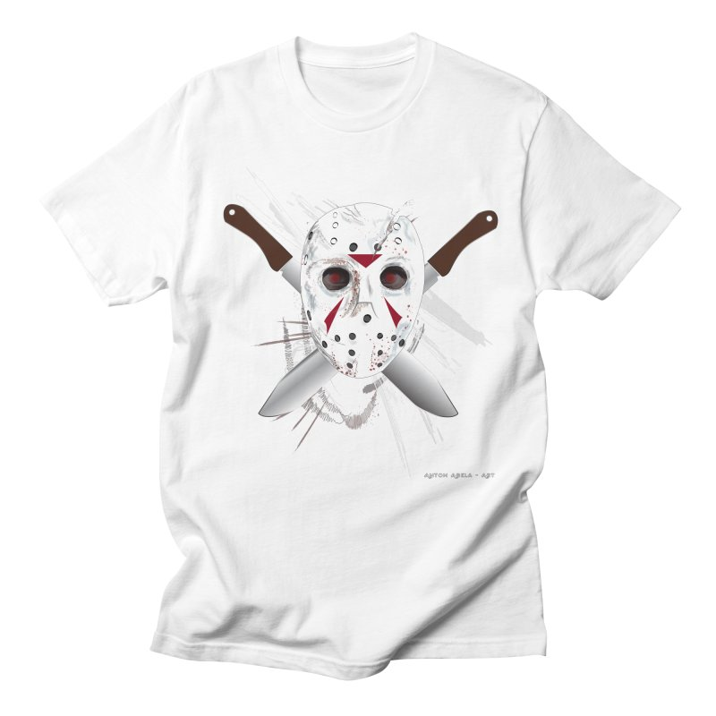 Jason Voorhees Men's T-Shirt by AntonAbela-Art's Artist Shop