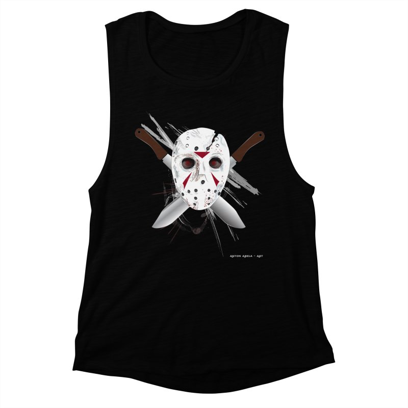 Jason Voorhees Women's Tank by AntonAbela-Art's Artist Shop