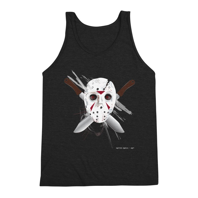 Jason Voorhees Men's Tank by AntonAbela-Art's Artist Shop