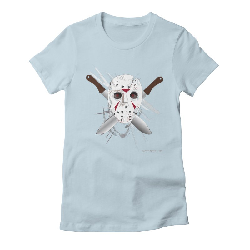 Jason Voorhees Women's T-Shirt by AntonAbela-Art's Artist Shop