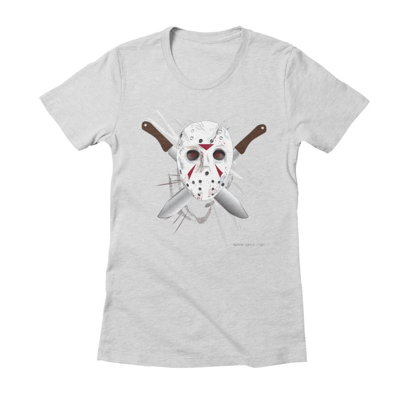 Jason Voorhees Women's T-Shirt by AntonAbela-Art's Artist Shop