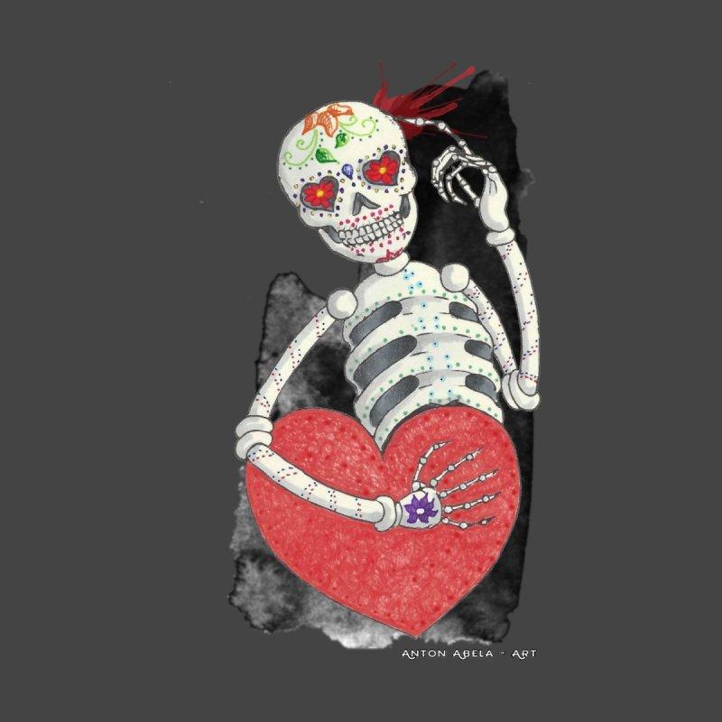 Calaca in Love   by AntonAbela-Art's Artist Shop