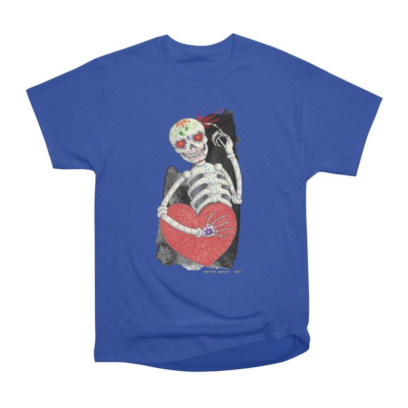 Calaca in Love Men's Classic T-Shirt by AntonAbela-Art's Artist Shop