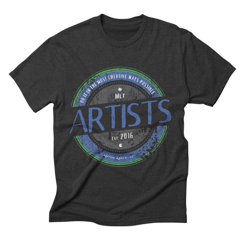 Artists Do It... Men's Triblend T-shirt by AntonAbela-Art's Artist Shop