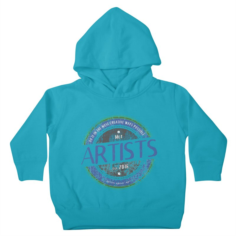 Artists Do It... Kids Toddler Pullover Hoody by AntonAbela-Art's Artist Shop