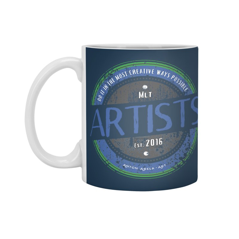 Artists Do It... Accessories Standard Mug by AntonAbela-Art's Artist Shop