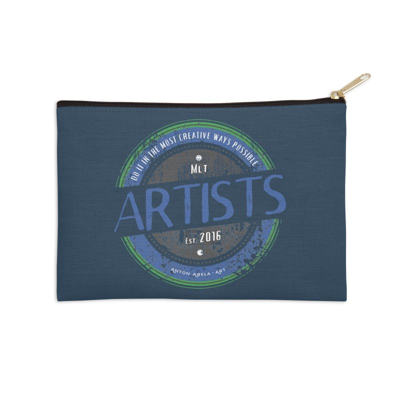 Artists Do It... Accessories Zip Pouch by AntonAbela-Art's Artist Shop